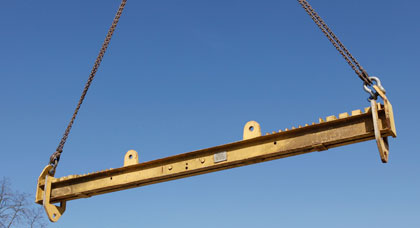 Accessories and miscellaneous lifting beams